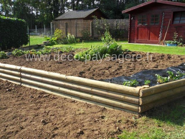 lice demi rond potager